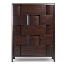 Nova 5 Drawer Chest by Magnussen Furniture