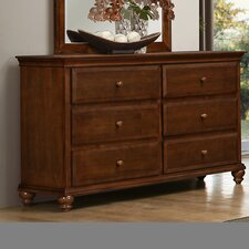 Allenport 6 Drawer Double Dresser by Simmons Casegoods by Three Posts