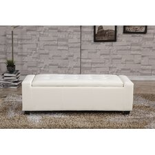 Upholstered Storage Entryway Bench by Bellasario Collection
