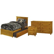 Ernest Nantucket Panel 3 Piece Bedroom Set by Viv + Rae