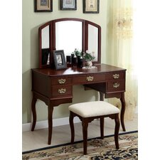 Falconer 3 Piece Vanity and Stool Set by Darby Home Co®