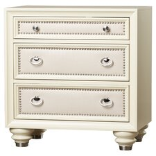 Augustina 3 Drawer Bachelor's Chest by House of Hampton