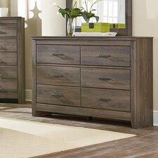 Hayward 6 Drawer Dresser by Mercury Row®