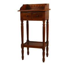 Reed 2 Drawer Nightstand by Antique Revival