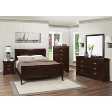 Blundell Panel Customizable Bedroom Set by Charlton Home®
