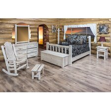 Homestead Panel Customizable Bedroom Set by Montana Woodworks®