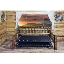 Glacier Country Daybed Frame with Trundle by Montana Woodworks®