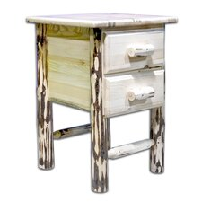 Montana 2 Drawer Nightstand by Montana Woodworks®