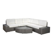 Mathieson 6 Piece Deep Seating Group with Cushion
