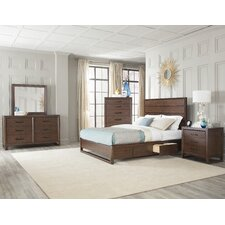 Mercer Platform Customizable Bedroom Set by Cresent Furniture
