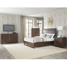 Mercer Platform Customizable Bedroom Set by Cresent Furniture
