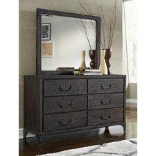 Sedgwick 6 Drawer Dresser with Mirror by Trent Austin Design®