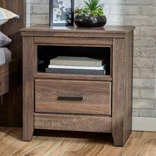 Hayward 1 Drawer Nightstand by Mercury Row®