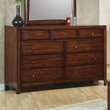 Triggs 9 Drawer Dresser by Darby Home Co®