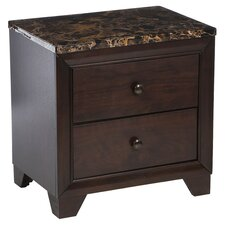 Curteys 2 Drawer Nightstand by Charlton Home®