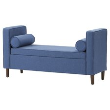 Rimo Upholstered Storage Bench by Mercury Row®