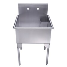 "Pearlhaus 27"" x 27"" Single Freestanding Utility Sink"