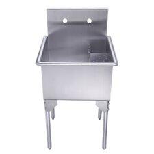 "Pearlhaus 23"" x 23"" Single Freestanding Utility Sink"