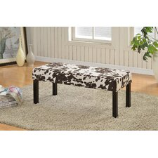 Fabric Upholstered Entryway Bench by Container