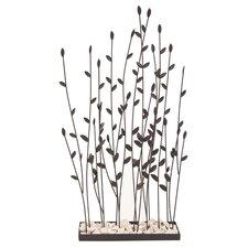 "Grasses 31"" Metal Decor"