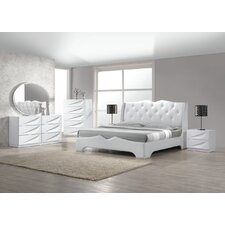 Madrid Platform 5 Piece Bedroom Set by BestMasterFurniture
