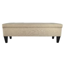 Brooke Upholstered Storage Bench by MJL Furniture