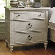 Oyster Bay 3 Drawer Nightstand by Lexington