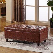Elegant Wood Storage Bedroom Bench by NOYA USA
