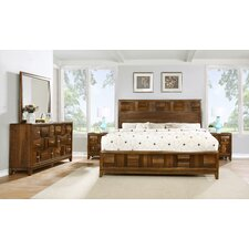Calais Panel 5 Piece Bedroom Set by Roundhill Furniture