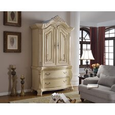 Monaco Armoire by Meridian Furniture USA Best Reviews