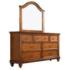 Millbrook 7 Drawer Dresser with Mirror by Darby Home Co®