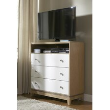Hector 3 Drawer Media Chest by Mercury Row®