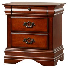 Griswold 3 Drawer Nightstand by Rosalind Wheeler