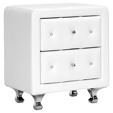 Baxton Studio Nightstand in White by Wholesale Interiors