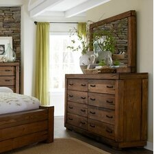 8 Drawer Dresser with Mirror by Loon Peak®
