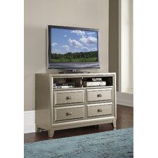 Margriete 4 Drawer Media Chest by House of Hampton