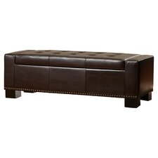 Davers Upholstered Two Seat Storage Bench by Alcott Hill®