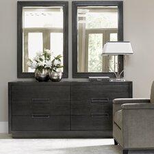 Carrera Dresser with Mirror by Lexington
