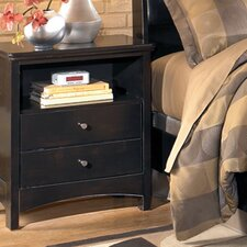 Menard 2 Drawer Nightstand by Signature Design by Ashley