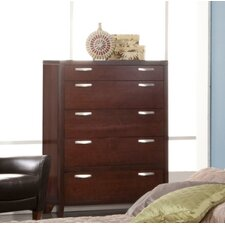 Vista 5 Drawer Chest by Fairfax Home Collections
