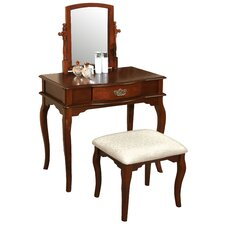 Coreen Vanity Set with Mirror by Hokku Designs