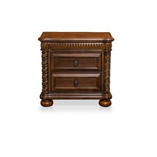 Bautini 2 Drawer Nightstand by Hokku Designs