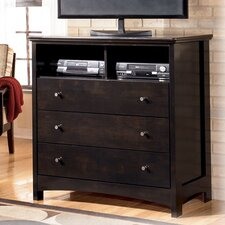 Menard 3 Drawer Media Chest by Signature Design by Ashley