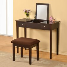 Healey Vanity Set with Mirror by Andover Mills®