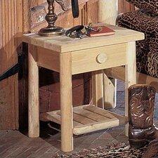 Lonato 1 Drawer Nightstand by Loon Peak®
