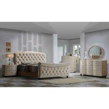 Diamond Sleigh Customizable Bedroom Set by Meridian Furniture USA
