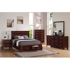 Acropolis Platform Customizable Bedroom Set by Andover Mills® On sale