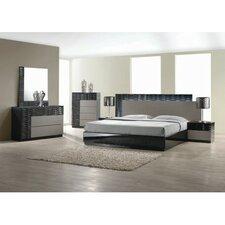 Romania Platform 5 Piece Bedroom Set by BestMasterFurniture
