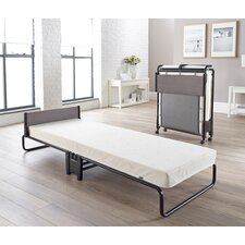 Inspire Folding Bed with Airflow Fiber Mattress by Jay-Be