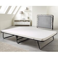 Saver Folding Bed with Airflow Fiber Mattress and Cover by Jay-Be